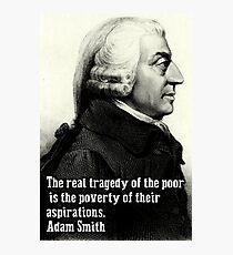 Adam Smith Photographic Print
