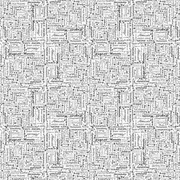 Weinliebhaber Typografie Kunstdruck von Saburkitty