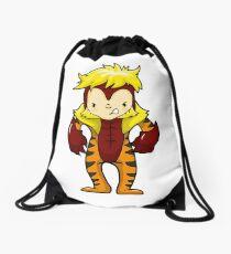 SABRE TOOTH CAT Drawstring Bag