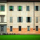 House and bicycles by Silvia Ganora