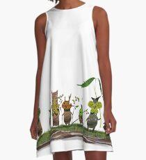 plant spirits A-Line Dress