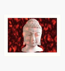 Lámina artística Buddha in Flames, Ubud, Bali