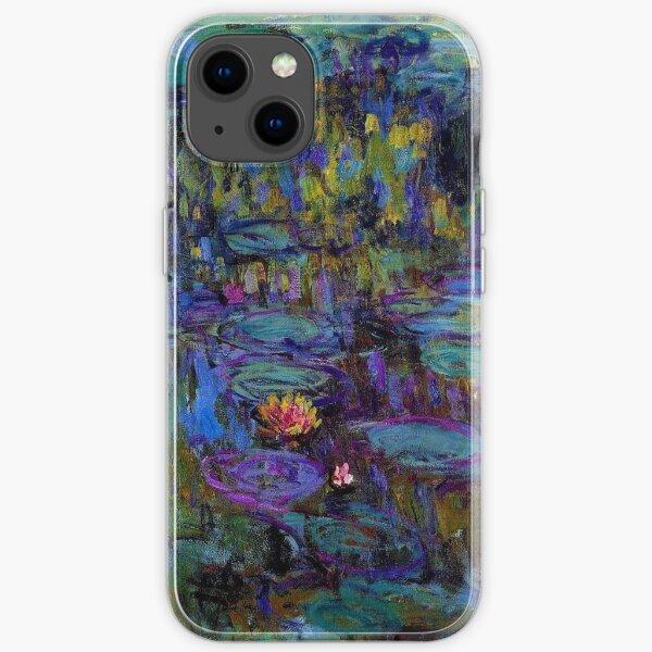 Monet Water Lilies iPhone Soft Case