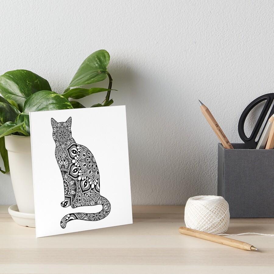 «Gato de Mandala» de NicoleHarvey