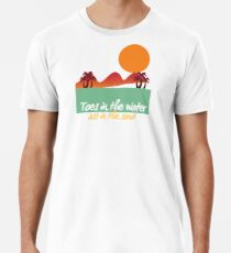 Toes in the Water Premium T-Shirt