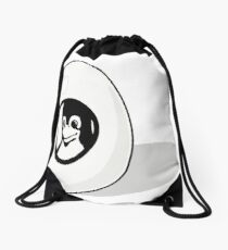 LINUX TUX EGG BRAND  Drawstring Bag