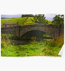 Appersett Bridge Poster