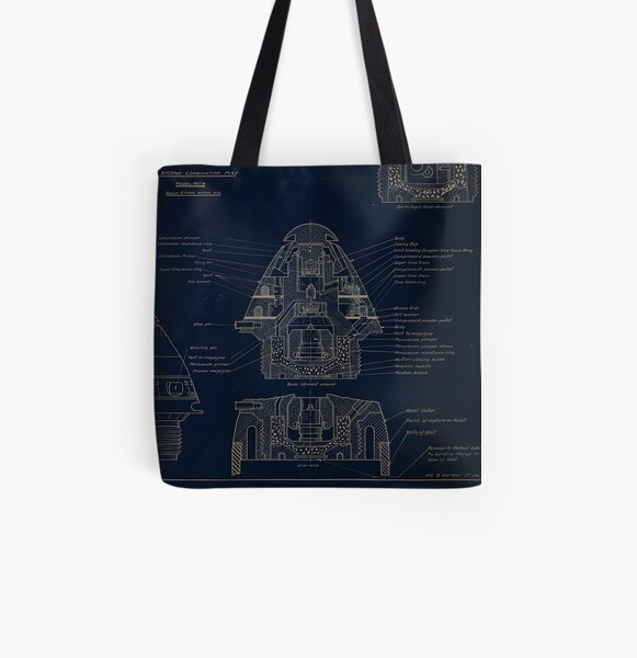 21 Second Combination Fuse Model 1907 All Over Print Tote Bag