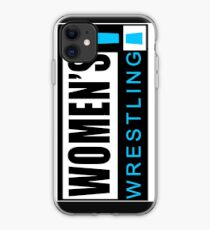 Women's Wrestling Vintage SD Logo iPhone Case