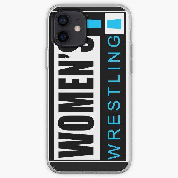 Women's Wrestling Vintage Logo iPhone Soft Case
