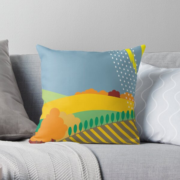 From Sea to Shining Sea #11 Throw Pillow