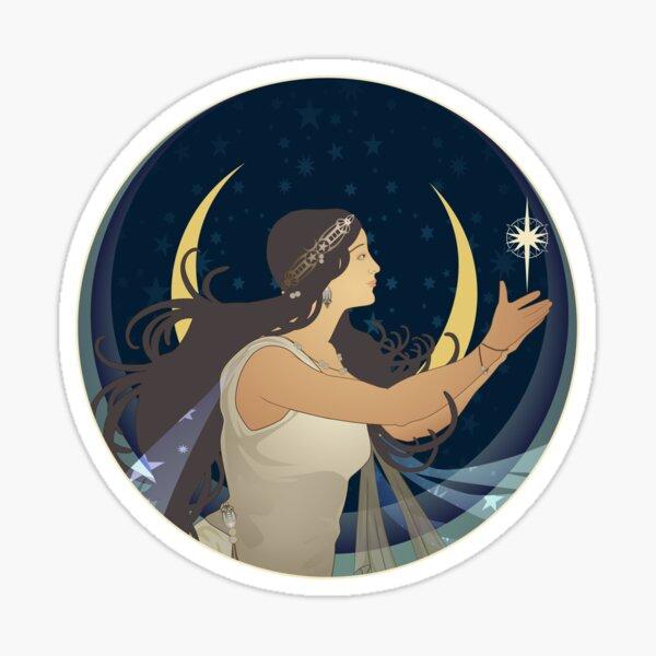 Evening Star Sticker