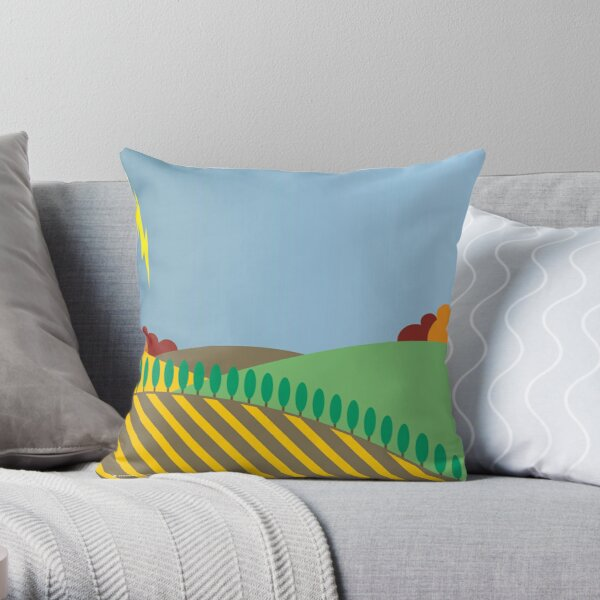 From Sea to Shining Sea #12 Throw Pillow