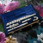Concert Flute with Curved Headjoint by MidnightMelody