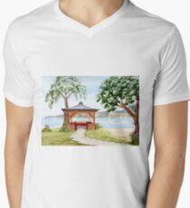 The Spirit of Inverewe Men's V-Neck T-Shirt