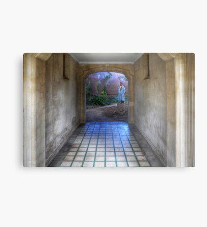 Blue tunnel Metal Print
