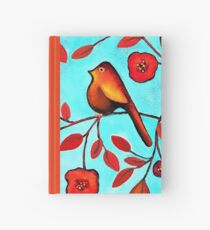 Bird On A Branch Hardcover Journal