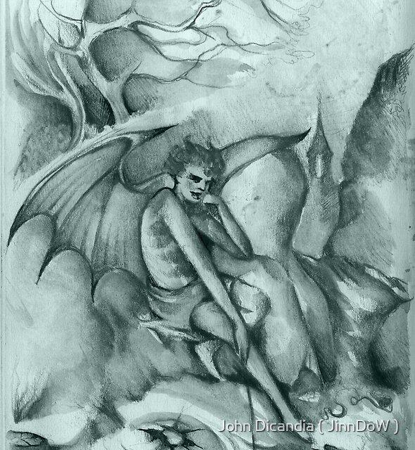The Dark Angel Awaits  by John Dicandia ( JinnDoW )