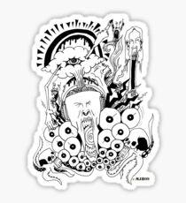 METAL!!!!!!!!!!!!!!!!!!!!!!!!!!!!!!!!!!!!!!!!!!1 Sticker