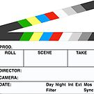 Clapperboard by evelynnlee