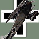 Roundel Design - Fokker DVII by muz2142