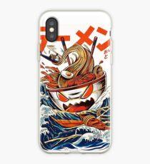 Vinilo o funda para iPhone El Gran Ramen frente a Kanagawa Japón