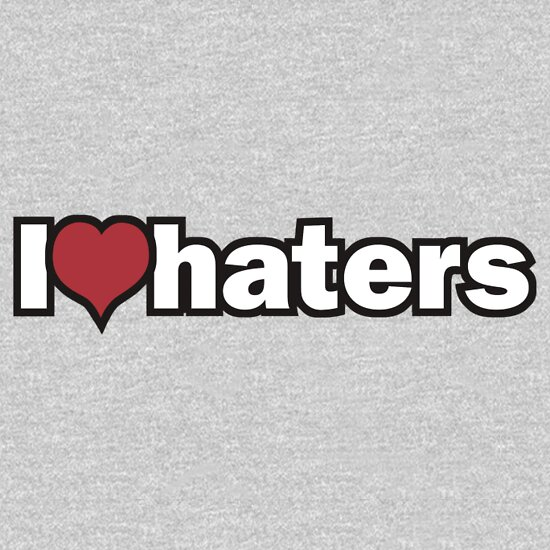 TShirtGifter presents: I love haters