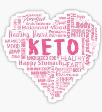 Empowering keto benefits Sticker