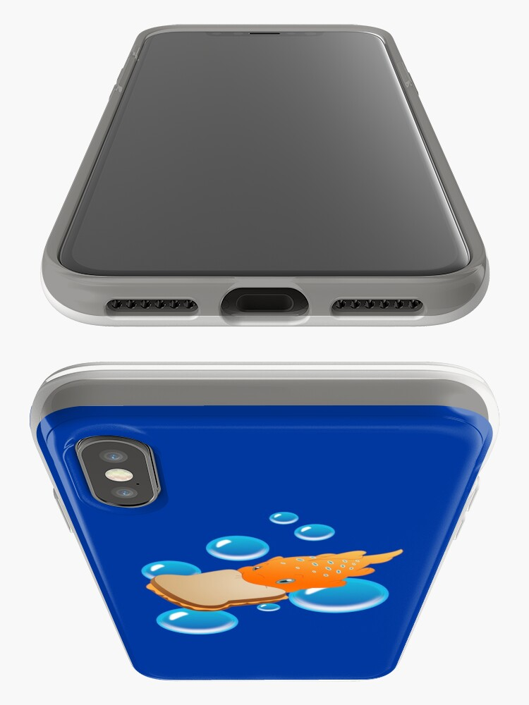 Vista alternativa de Funda y vinilo para iPhone Pudge el pescado
