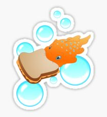 Pudge the Fish Sticker