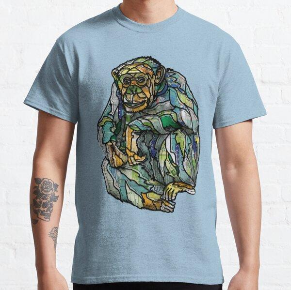 Sitting Chimpansee Classic T-Shirt