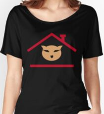 Cat House Women's Relaxed Fit T-Shirt