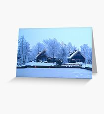 Winter in Friesland Greeting Card
