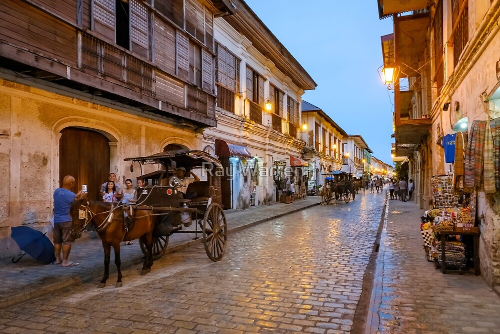 Vigan City Philippines 2 by Ray Warren