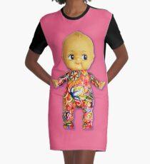 Tattoo Kewpie Graphic T-Shirt Dress