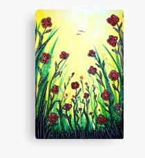 The Promise of Spring - Poppies Canvas Print