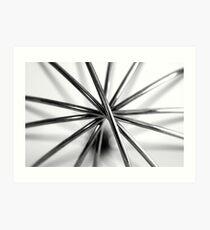 Hand Whisk Macro Art Print