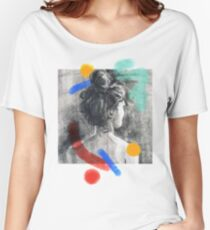 Artist Signature - Artsy Print Women's Relaxed Fit T-Shirt