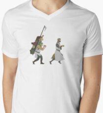 King Arthur Men's V-Neck T-Shirt