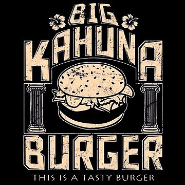 Castle Big Kahuna Burger by lewisleticial