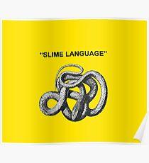 Slime Language Snakes Shirt Poster