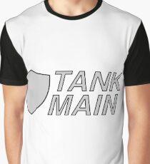 'Tank Main' Minimalist Design Graphic T-Shirt