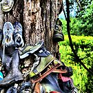 Used Shoe Store on a Tree by SeRVE