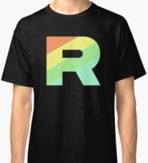 Team Rainbow Rocket Logo Classic T-Shirt