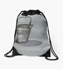 Metal Bucket Drawstring Bag