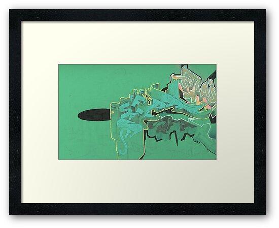 green sketch 4 by antony hamilton