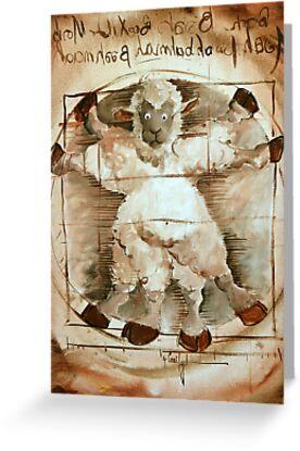 Baaa Vinci by sheepincognito