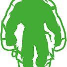 The green man by Airmatti