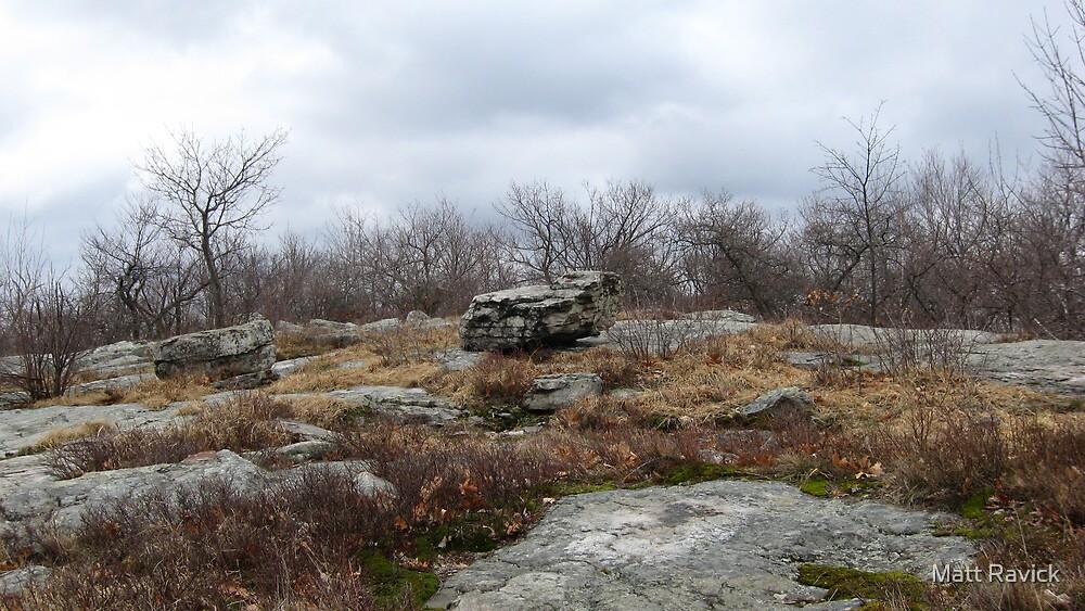 Desolate Mountain 2 by Matt Ravick