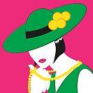 Madame - Grün und Pink von WACHtraum